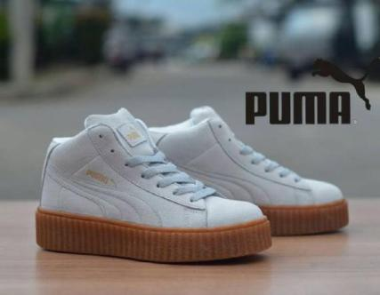 BP0227 White Gum Puma Rihanna High - Rp. 360000