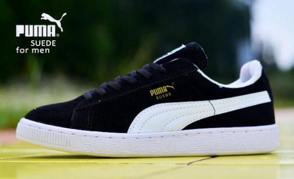 BP0512 Black White Puma Classic Suede Men - Rp. 250000