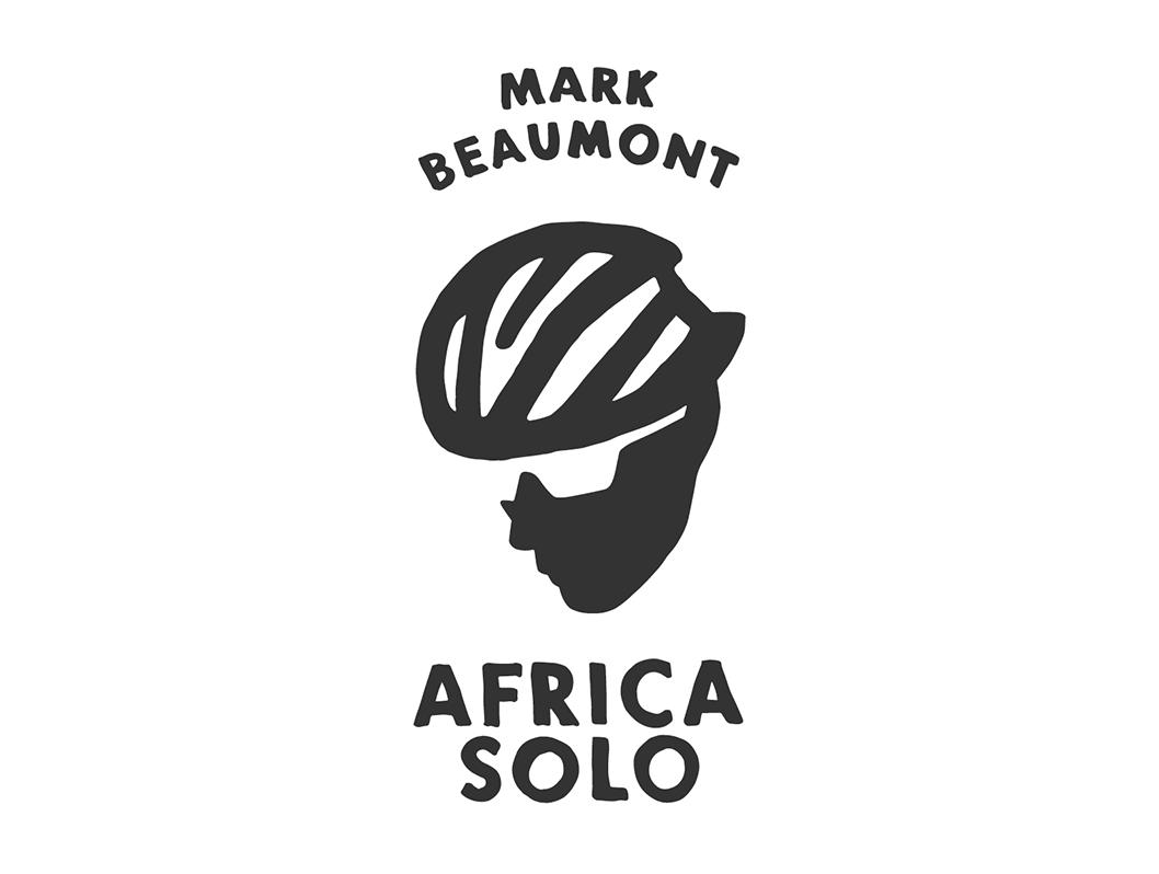 Así es el logo del aventurero que recorrerá África en
