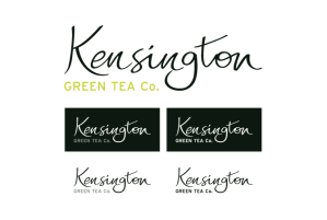 Logotipo Kensington versiones