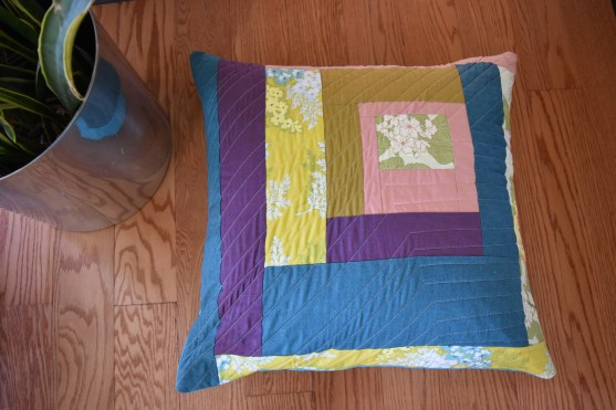 Quilted Floor Pillow
