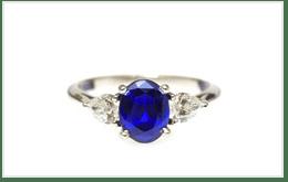 藍寶石戒指 2CT