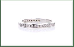 PT900白金的鑽石首飾