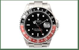 ROLEX 勞力士 赤黑錶圈GMT MASTER II 16710的收購