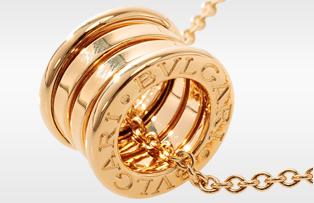二手BVLGARI寶格麗 B.ZERO 1 18K黃金項鍊