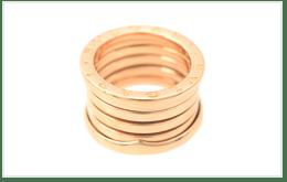 二手BVLGARI寶格麗 B.ZERO 1 RING 18K黃金戒指