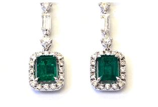 大顆的祖母綠戒指.設計感優越的祖母綠耳環收購指南