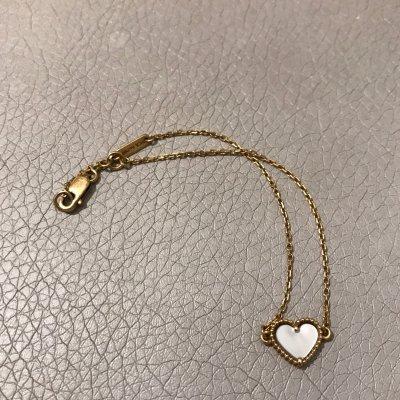 Van Cleef & Arpels 愛心珍珠母貝手鍊