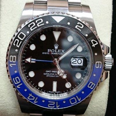 ROLEX 116710BLNR GMT Master II(黑藍) 190420 松山