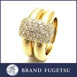 CHAUMET 珠寶 二手 K18 黃金.密釘鑲嵌 鑽石 戒指指南
