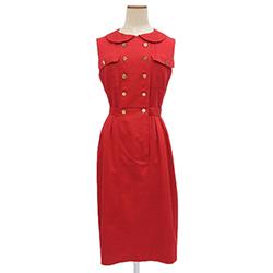 CHANEL 香奈兒 二手 紅 洋裝