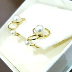 二手 珍珠 TASAKI 耳環