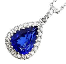 大顆丹泉石鑽石項鍊