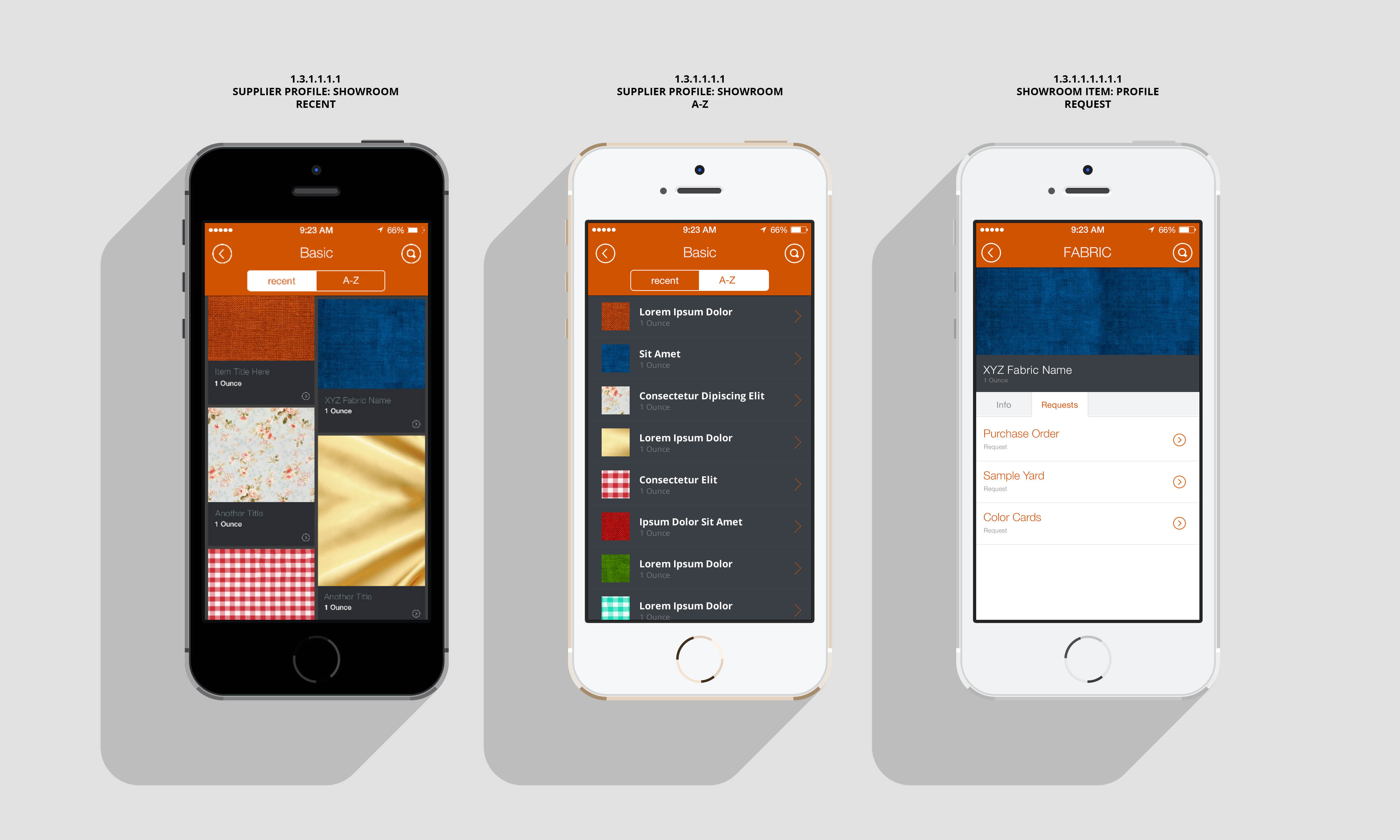 Ez fabric mobile app ux ui design brandhorsebrandhorse for How do i design an app