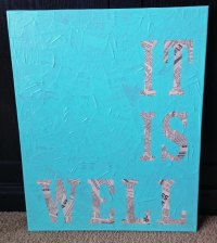 DIY Quote Wall Art | brandidandy
