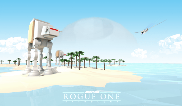 Rogue One - Low Poly by Andreas Frank