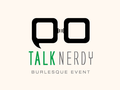 Talk Nerdy Logo by RevengeLover