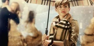 Burberry Festive Campaign featuring Romeo Beckham