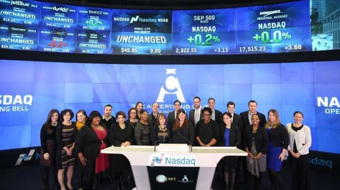 The Advertising Club of New York at NASDAQ