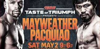 Tecate's Taste of Triumph platform presents Mayweather Pacquiao