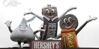 Hershey chocolate factory mascots, Hershey Bar, Hershey Kiss and Reeses Bar - Photo by Karen Foley Photography