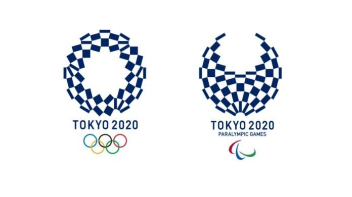 Tokyo 2020 Olympics' Harmonised Chequered Emblems.