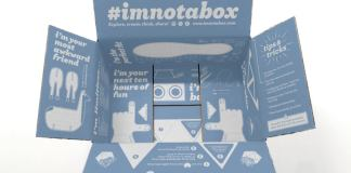 Zappos #ImNotABox Campaign