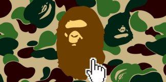 bathing ape online