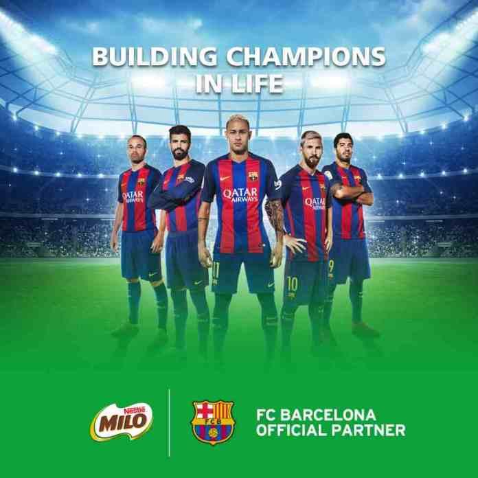 Nestlé Milo Inks Global FC Barcelona Sponsorship Deal