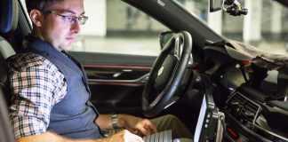 Engineer Testing BMW