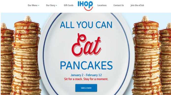 IHOP Website