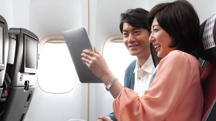 JAL wifi upgrade