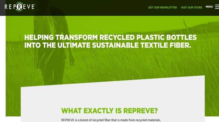 REPREVE Website