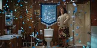 febreze bathroom break