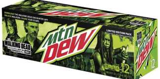 Mountain Dew Can Pack TWD