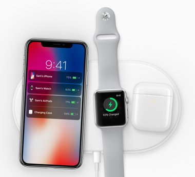 iPhone X charging dock pods