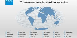 Vivo Announces Plan to Expand Into More Global Markets