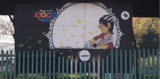 "PPG's Comex Brand Creates 30 Murals to Celebrate ""Coco"""