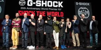 Casio G-SHOCK Celebrates 35 Years of Innovation With Anniversary Event