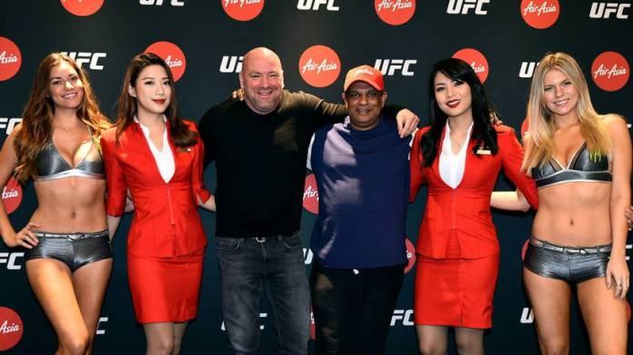 UFC Announces New Partnership with AirAsia as