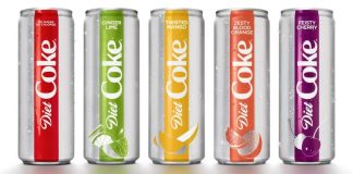 Diet Coke Rebrands with Refreshing New Look and Flavours