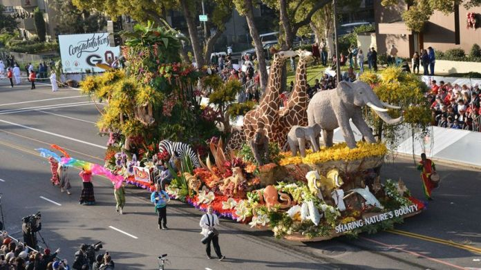 Dole Wins Grand Marshall Award at 2018 Tournament of Roses Parade