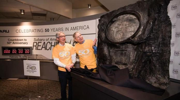 Subaru of America Celebrates Its 50th Anniversary