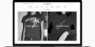 Givenchy Launches E-Commerce Platform for New European Markets