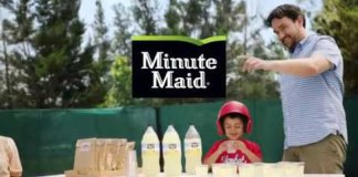 Minute Maid Celebrates the Good in Everyday Family Moments