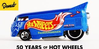 Hot Wheels Celebrates Its 50th Anniversary Since Its First Die Cast