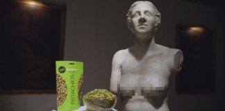 "Wonderful Pistachios ""Sometimes, Naked Is Better"" Campaign Is a Head-Turner"