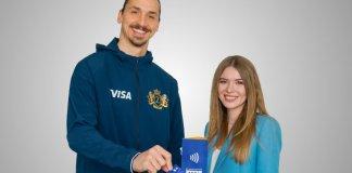 Visa Returns Zlatan Ibrahimović to the 2018 FIFA World Cup Russia