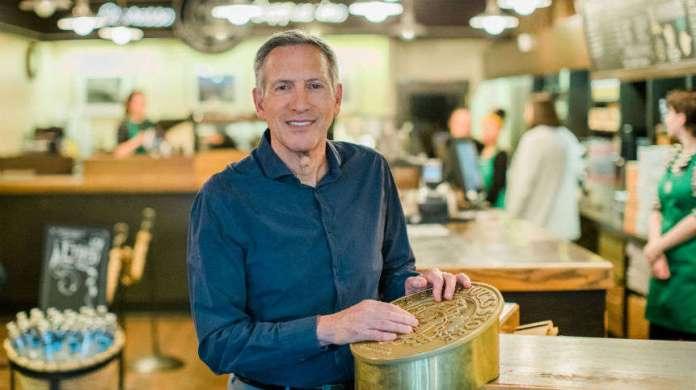 Starbucks Farewell Howard Schultz