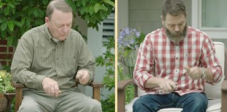 Nick and Ric Offerman Celebrate Father's Day with Lagavulin